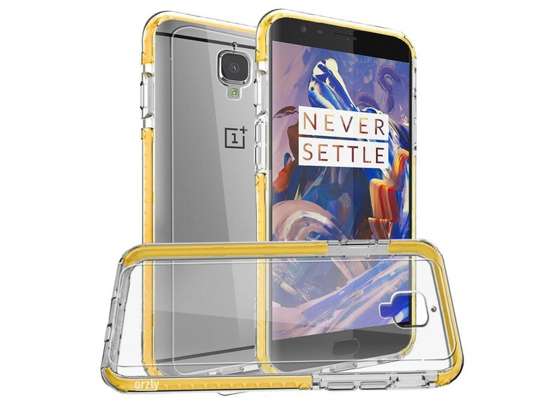 Orzly Fusion Case Gelb OnePlus 3/3T