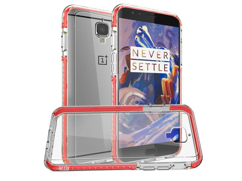 Orzly Fusion Case Rot OnePlus 3/3T