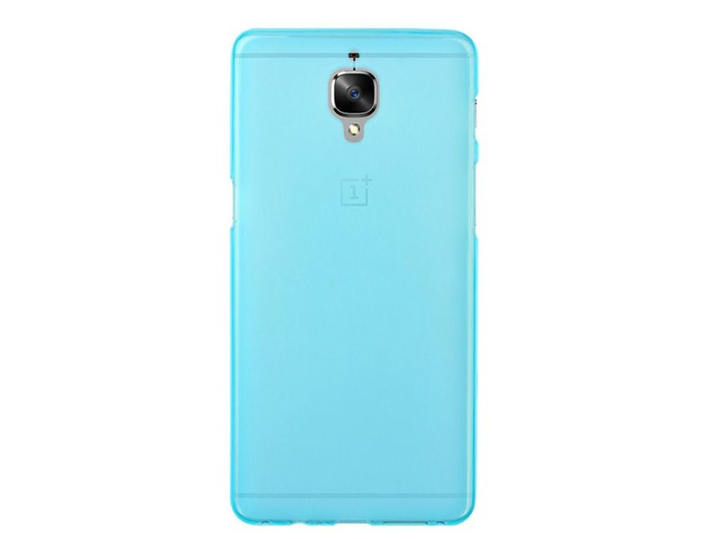 SillyCone Silicone Cover Blau OnePlus 3/3T