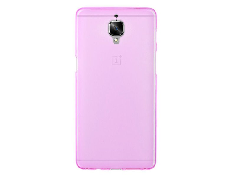SillyCone Silicone Cover Rot OnePlus 3/3T