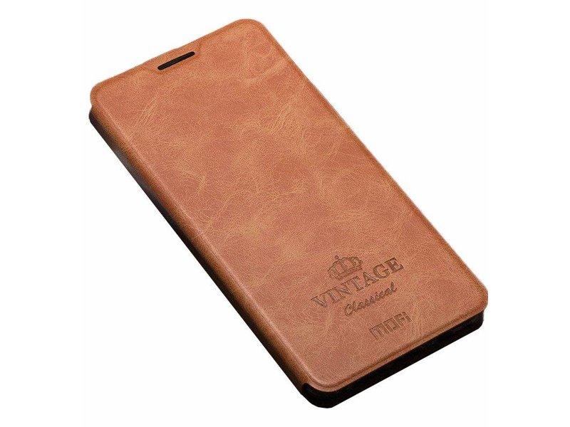 "MOFI Flip Case ""Vintage"" Braun OnePlus 3/3T"