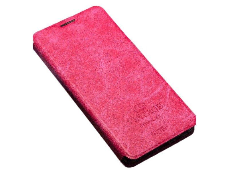 """MOFI Flip Case """"Vintage"""" Rosa OnePlus 3/3T"""