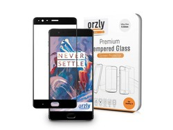 Orzly 2.5D Pro-Fit Displayschutzglas OnePlus 3