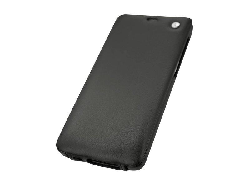 Norevo Tradition Nappa Slim Premium-Lederhülle Schwarz OnePlus 3/3T