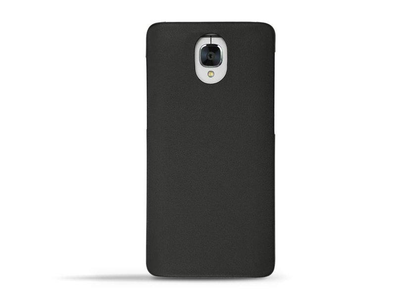 Norevo Tradition E Nappa Premium-Lederhülle Schwarz OnePlus 3/3T