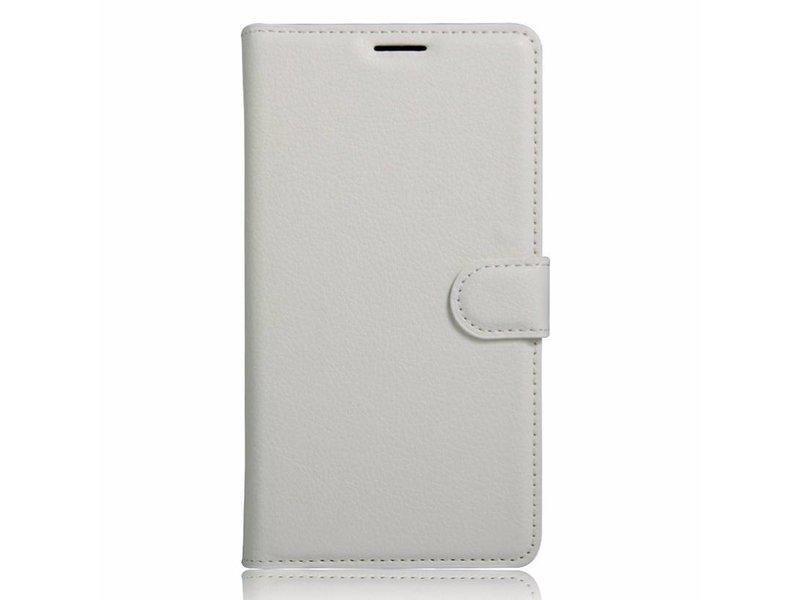 OPPRO Wallet Flip Case Weiss OnePlus 3/3T