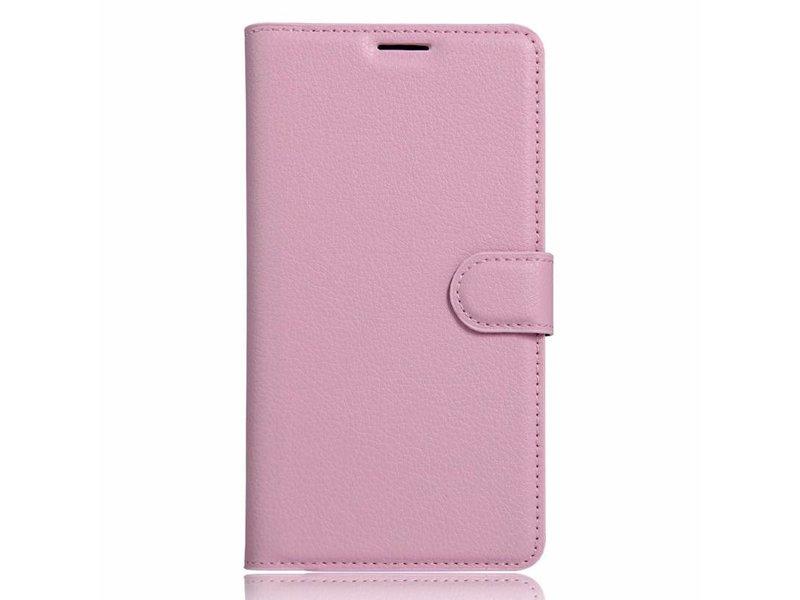 OPPRO Wallet Flip Case Hellrosa OnePlus 3/3T