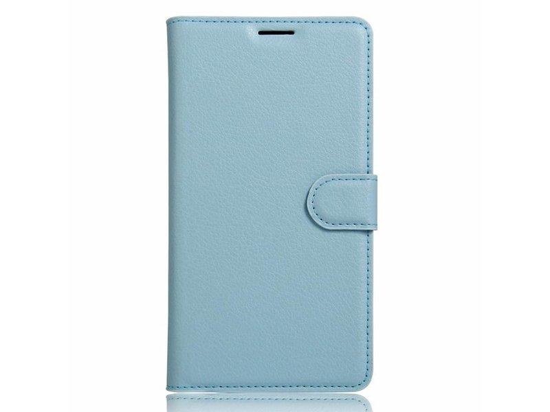 OPPRO Wallet Flip Case Blau OnePlus 3/3T