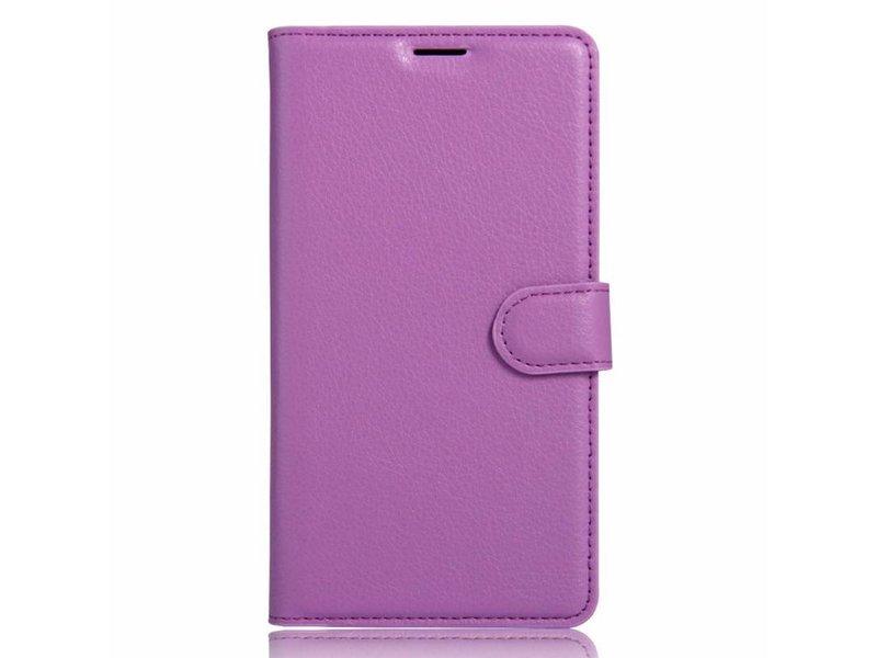 OPPRO Wallet Flip Case Violett OnePlus 3/3T