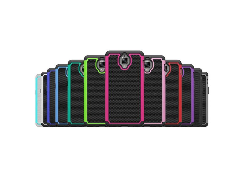 OPPRO Dual Layer Case Schwarz OnePlus 3/3T