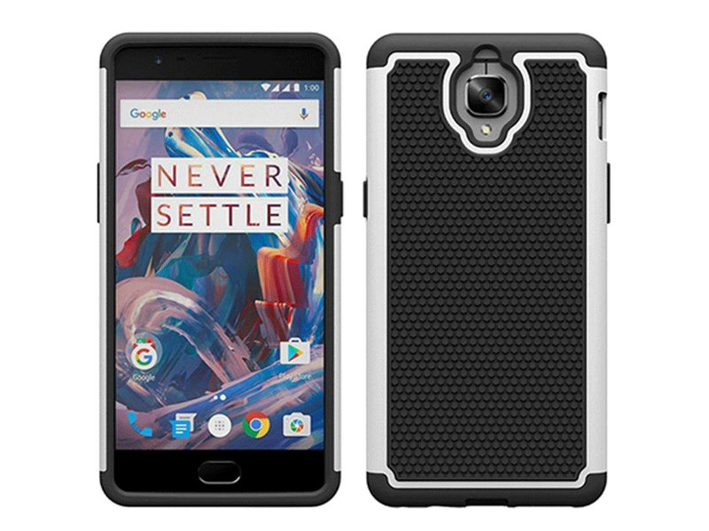 OPPRO Dual Layer Case Weiss OnePlus 3/3T