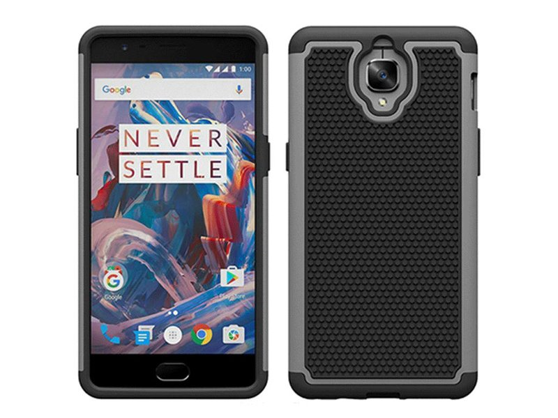 OPPRO Dual Layer Case Grau OnePlus 3/3T