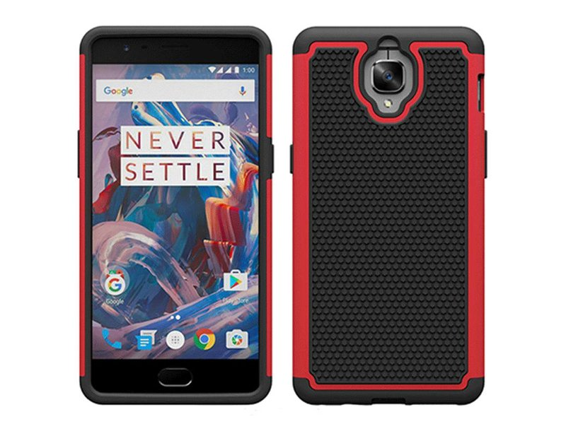 OPPRO Dual Layer Case Rot OnePlus 3/3T