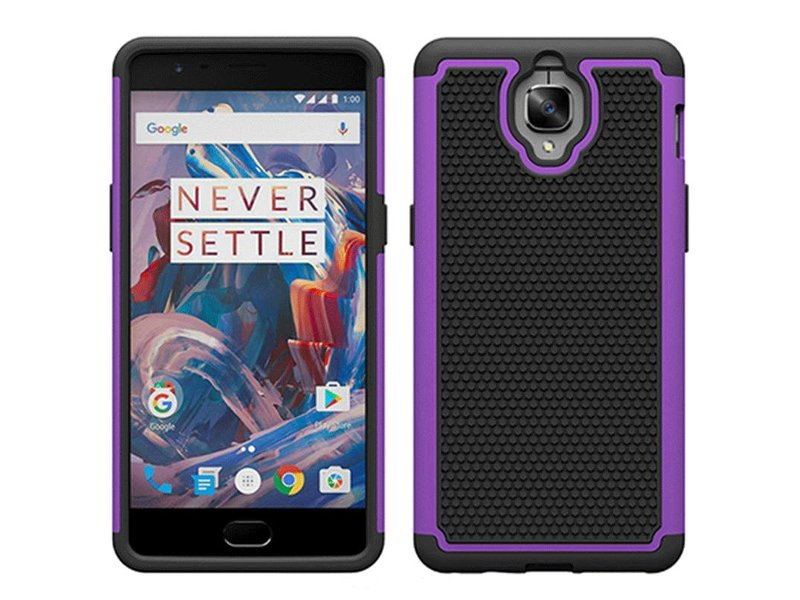 OPPRO Dual Layer Case Lila OnePlus 3/3T