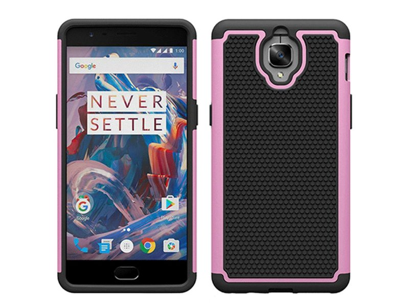 OPPRO Dual Layer Case Rose OnePlus 3/3T
