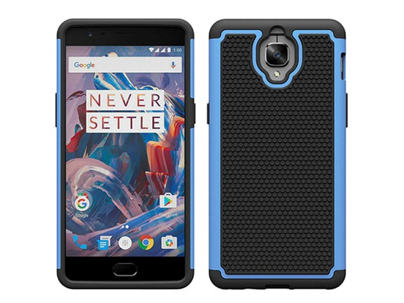 OPPRO Dual Layer Case Hellblau OnePlus 3/3T