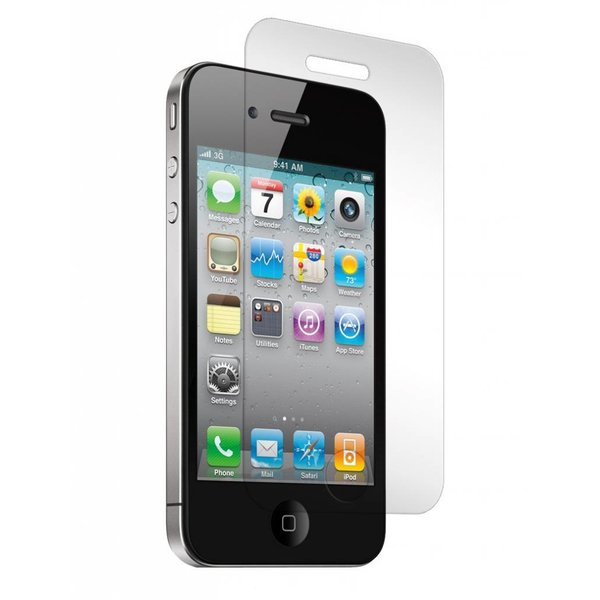 iPhone 4(s) tempered (gehard) glass screenprotector