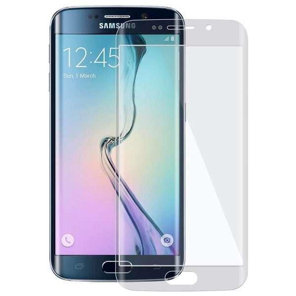 Samsung Galaxy S6 Edge Curved Tempered Glass Screenprotector
