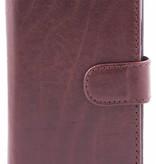 itZbcause itZbcause Lederen 2 in 1 Walletcase Hoesje voor de Samsung Galaxy s5 - Bruin