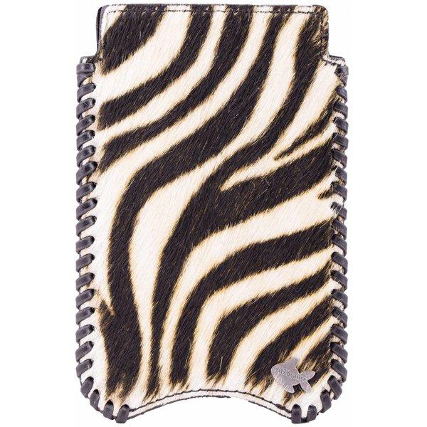 itZbcause Zebra Braided Hoesje voor Iphone 6 en 6s