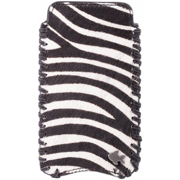 itZbcause Zebra Braided Hoesje voor Samsung Galaxy S4