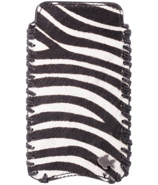itZbcause itZbcause Zebra Braided Hoesje voor Samsung Galaxy S4