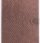 itZbcause itZbcause Lizard Bookcover Hoes voor iPad Air - Tan