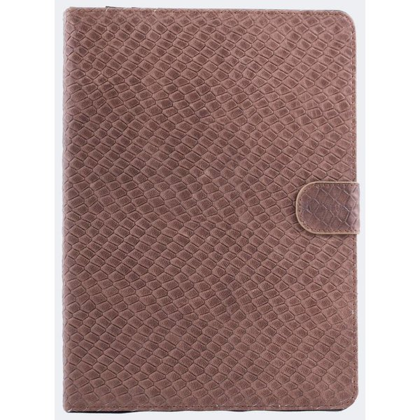 itZbcause Lizard Bookcover Hoes voor iPad Air - Tan