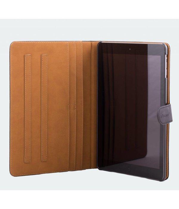 itZbcause itZbcause Snake Bookcover Hoes voor iPad Air - Cognac