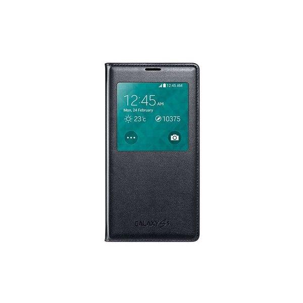 Samsung Galaxy S5 S View Cover Origineel - Zwart