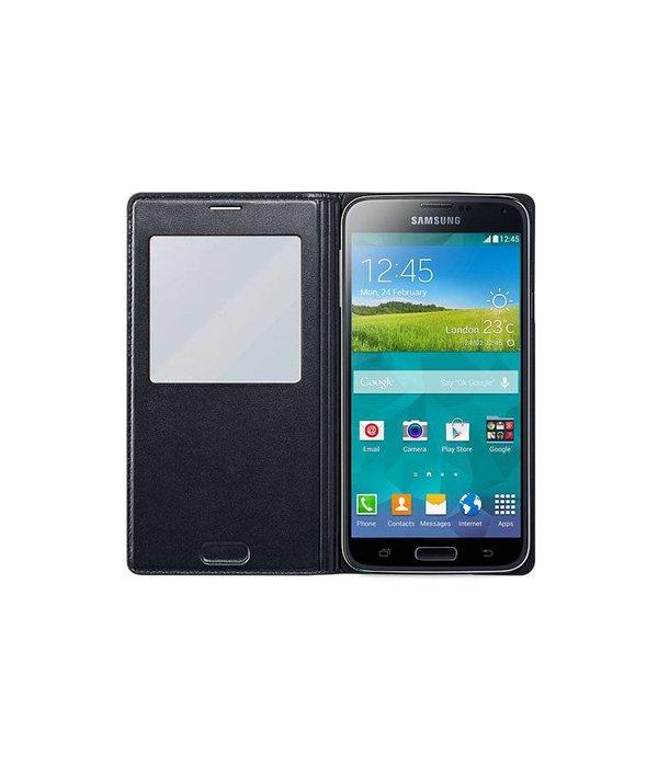 Overig Samsung Galaxy S5 S View Cover Origineel - Zwart