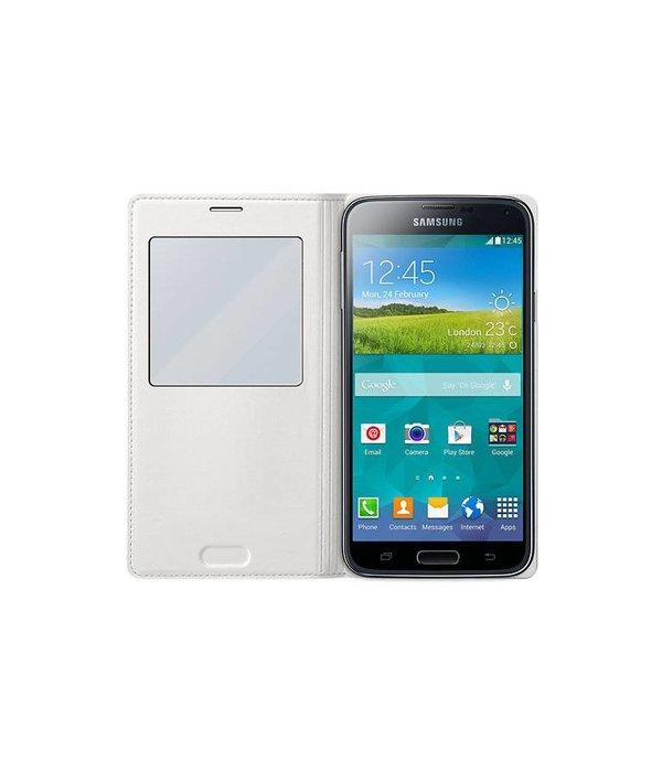 Overig Samsung Galaxy S5 S View Cover Origineel - Wit