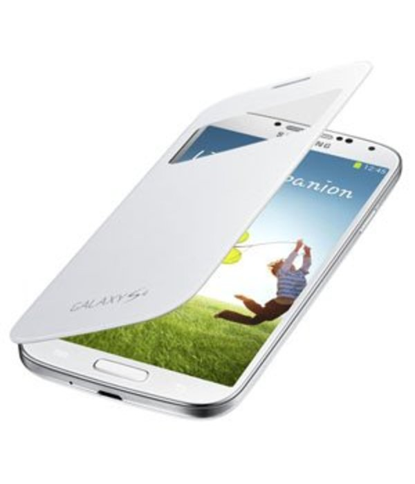 Overig Samsung Galaxy S4 S View Cover Origineel - Wit