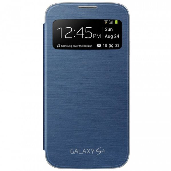 Samsung Galaxy S4 S View Cover Origineel - Donkerblauw