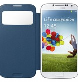 Overig Samsung Galaxy S4 S View Cover Origineel - Donkerblauw