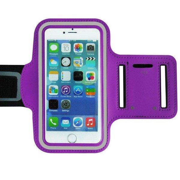 Sportarmband voor iPhone 4 & 5 - Paars