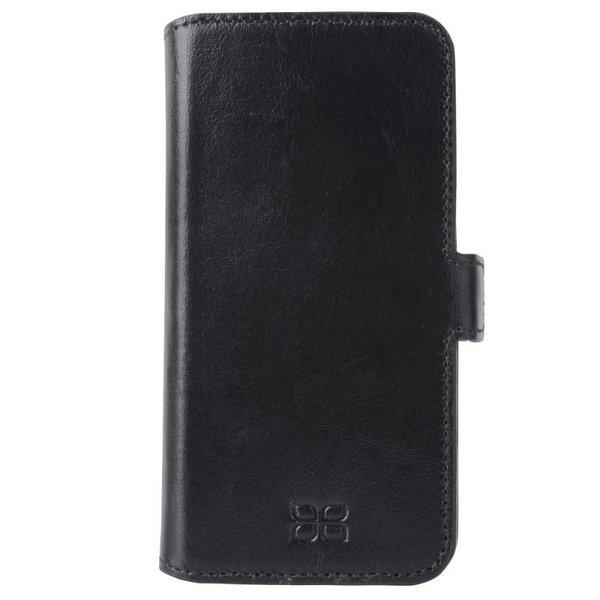 Samsung Galaxy S6 Lederen WalletCase Hoesje (Zwart)