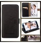 Bouletta Samsung Galaxy S7 Lederen Walletcase Hoesje (Rustic Back)