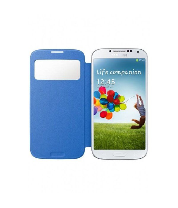Overig Samsung Galaxy S4 S View Cover Origineel - Blauw
