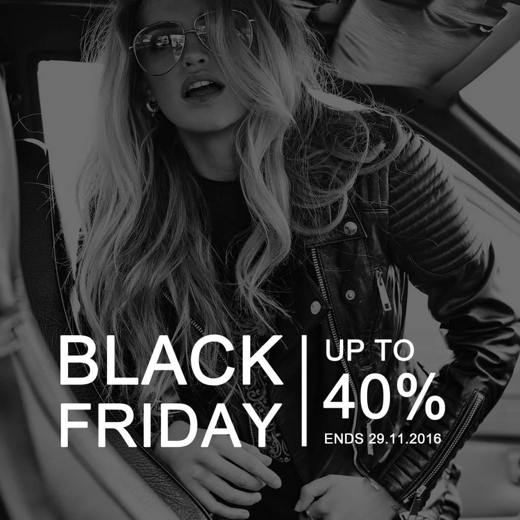 Het is Black Friday, dus shop till you drop!