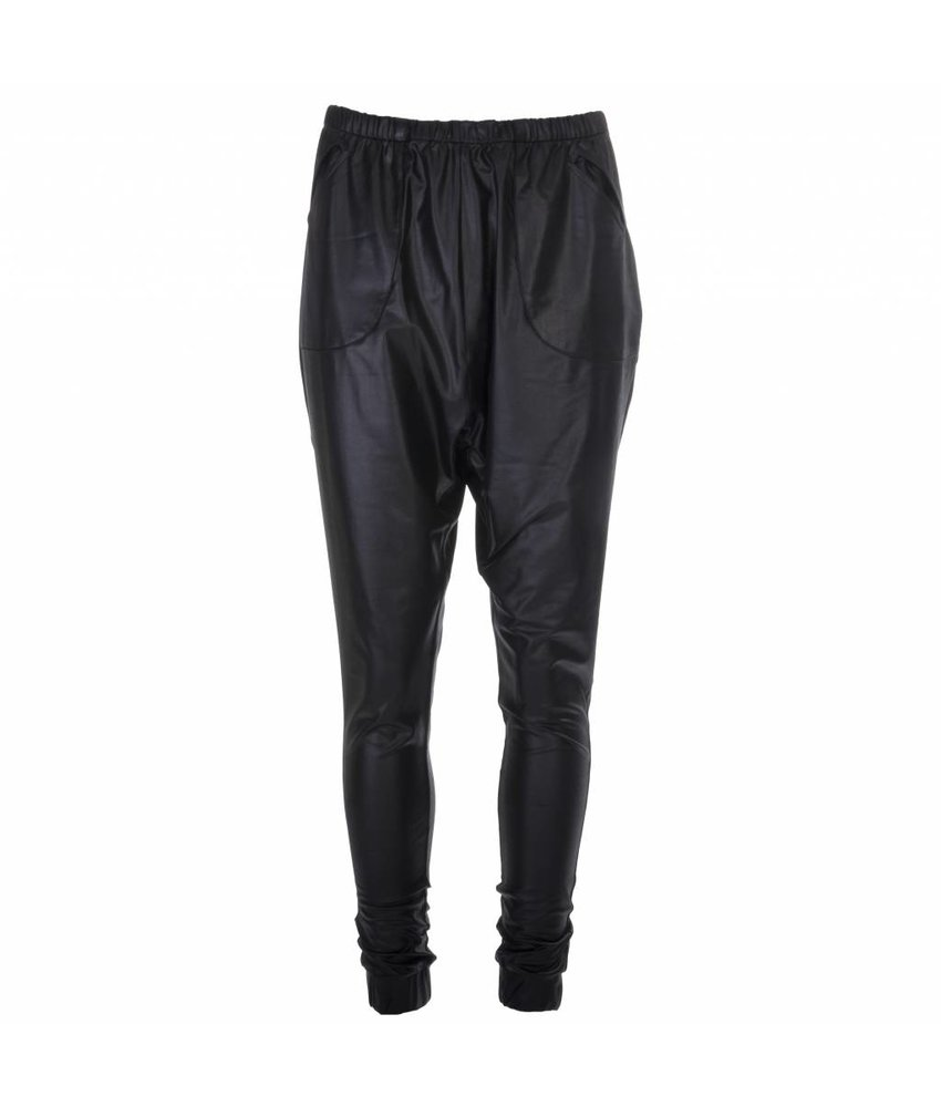 NÜ Denmark Baggy leatherlook broek