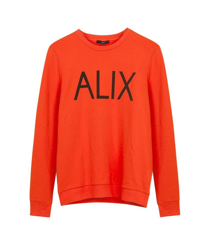 Alix The Label Sweater ALIX Orange