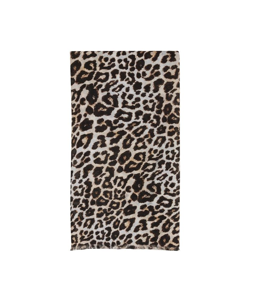 Alix The Label Scarf leopard