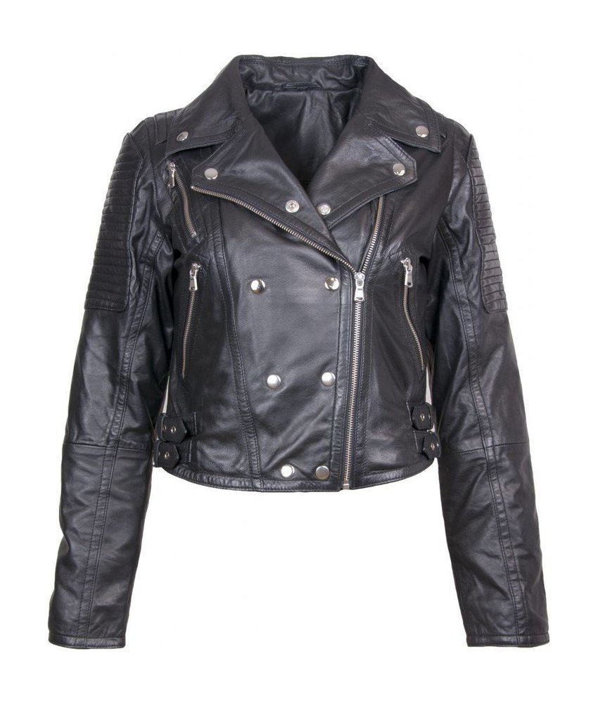 Caddis Fly Leather Combat jacket