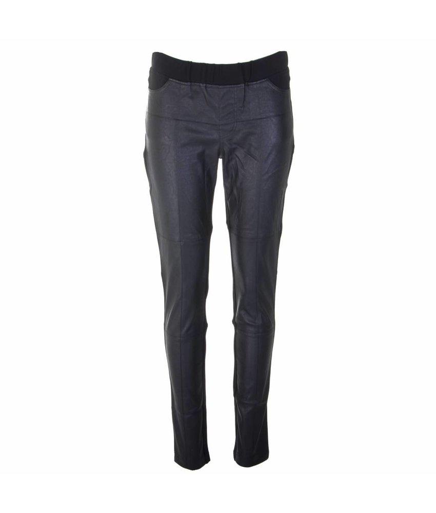 NÜ Denmark Legging met leather look front