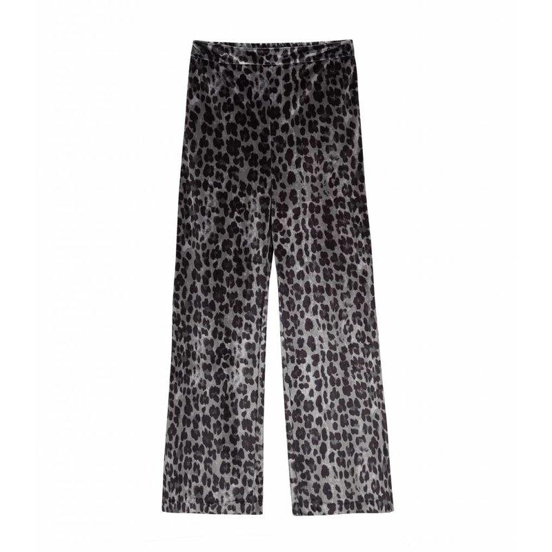 Alix The Label Animal velvet pants