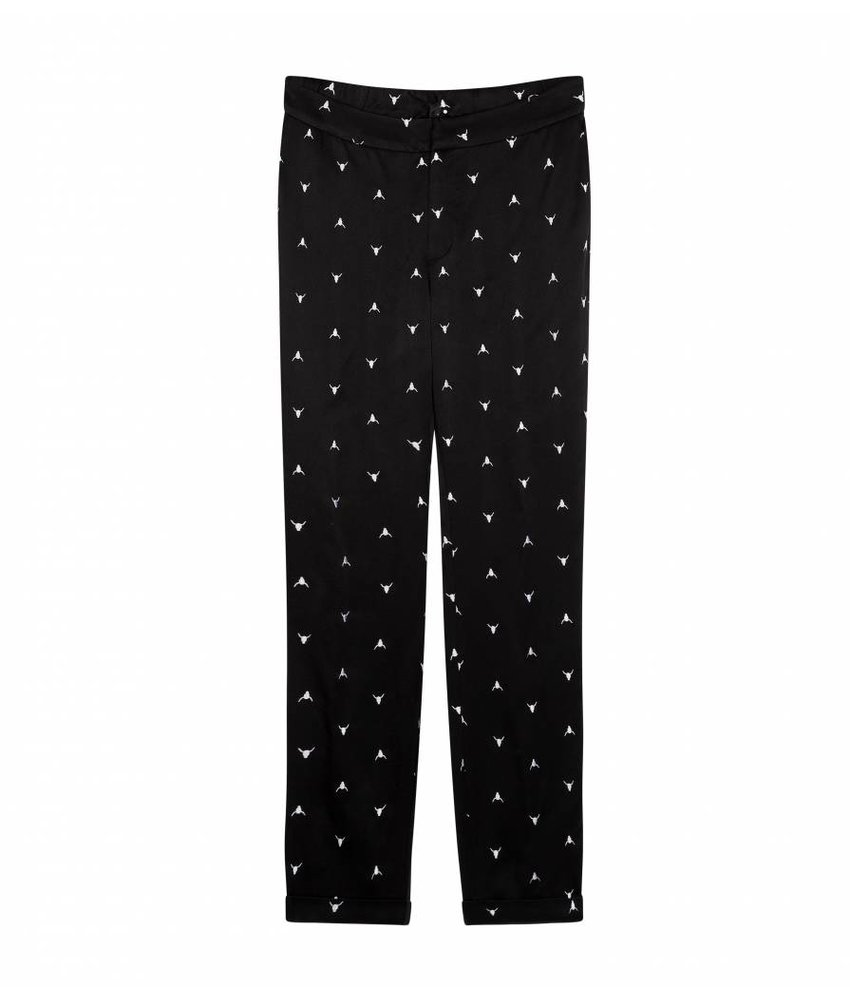 Alix The Label Bull embroidered pants