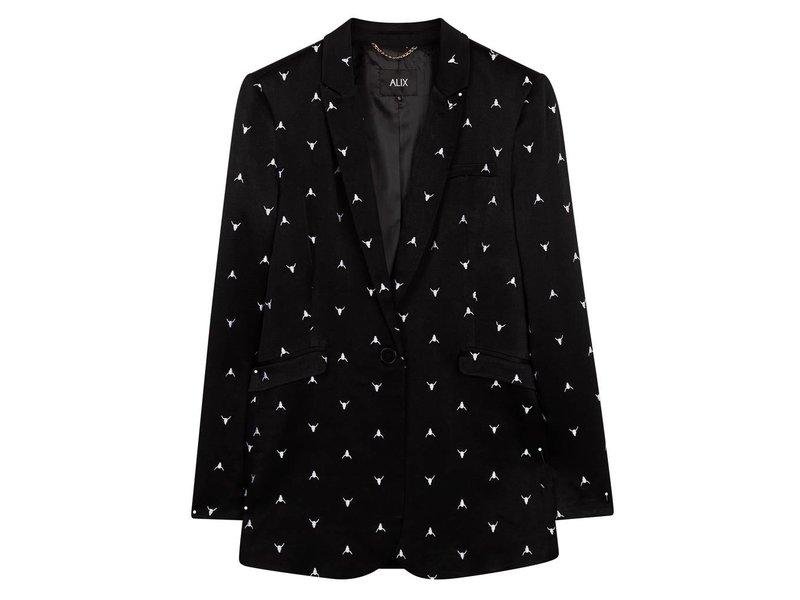 Alix The Label Bull embroidered blazer