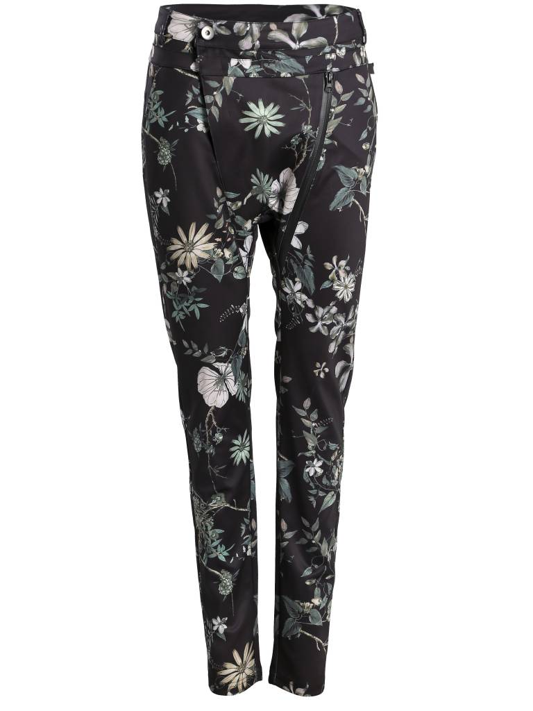 NÜ Denmark Baggy broek met bloemenprint