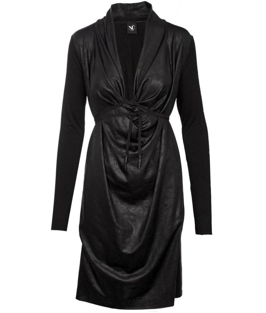 NÜ Denmark Leather look jurk of blouse